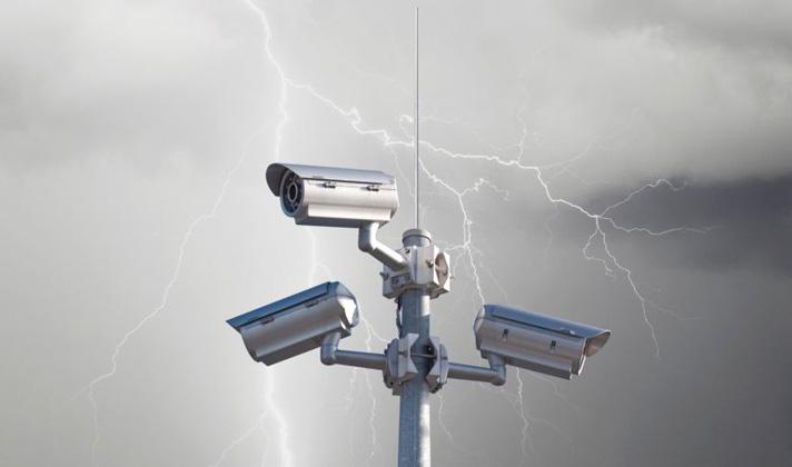 молниезащита камер видеонаблюдения, dehn, obo bettermann