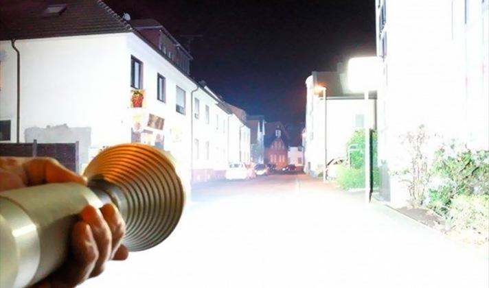 Ручной светодиодный фонарик своими руками