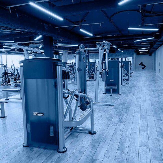 В тренажёрном зале Эгоисты теперь используются светодиодные светильники для фитнес-центра ledz e-Line. Яркий и мягкий свет, оптимальный для занятий спортом. Экономия энергии 75%. Срок службы более 20 лет. Хотите такие светильники? Звоните нам!