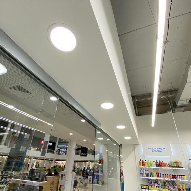 Салон органической косметики H&B закупили современные светодиодные светильники для торговой точки. Стильно выглядят, быстро окупаются. Хотите себе такие светильники? Звоните нам!