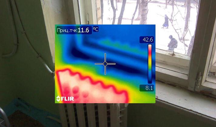 энергоаудит, тепловизионный контроль