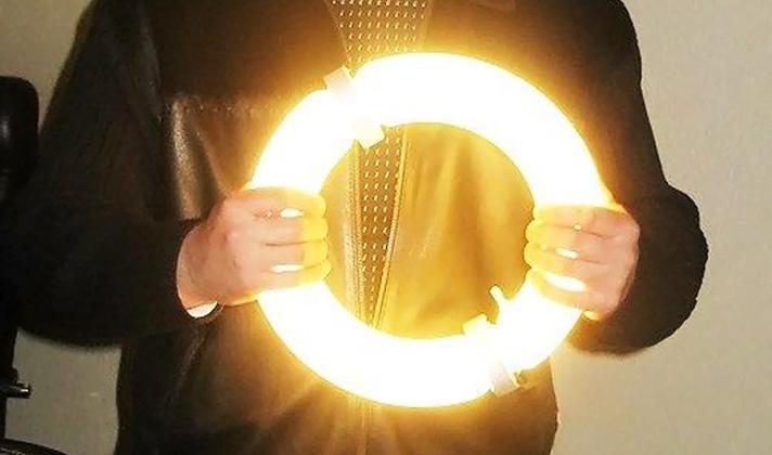 Индукционные лампы LVD Saturn не нагреваются